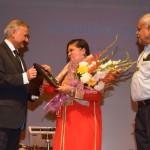 Pallavi Prakash With CBI Director Mr. Anil Kumar Sinha