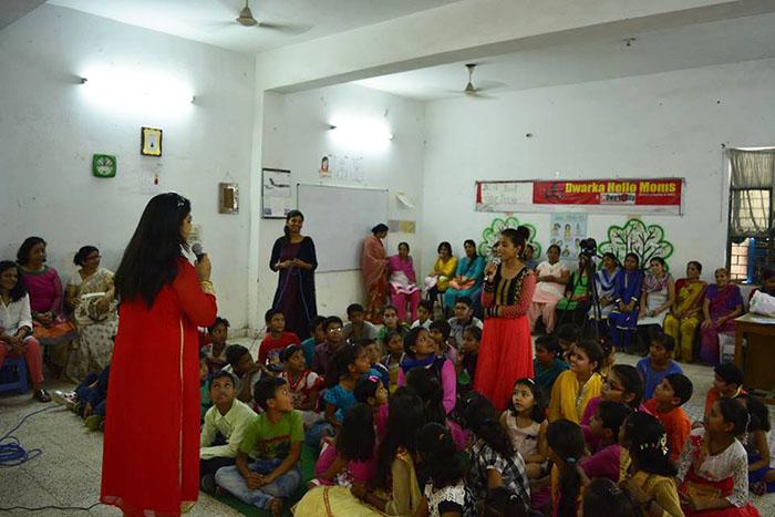 Pallavi Prakash Conducting Seminar on TV Cinematic Skills1