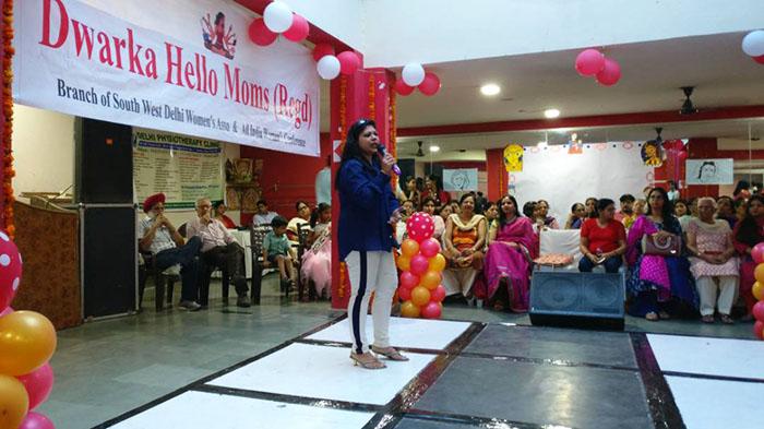 Pallavi Prakash's Speech on Mother's Day Delhi